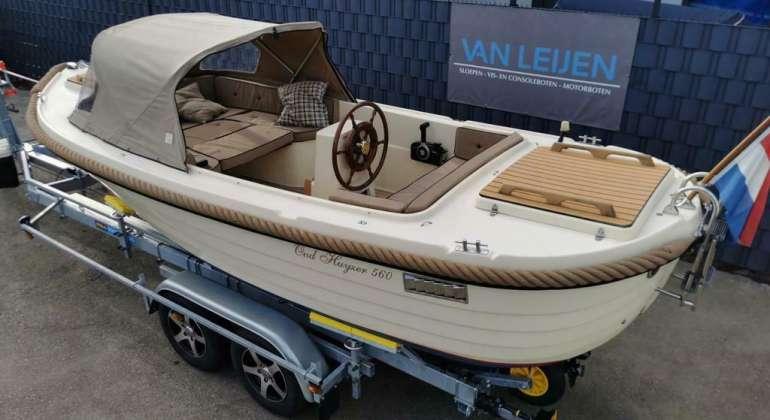 Oud Huijzer 560 Suzuki 15PK Teak Vloer Veel Opties BJ 2007